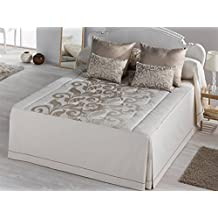 LaNovenaNube - Colcha edredón DONATELLA cama 150 - Color Oro