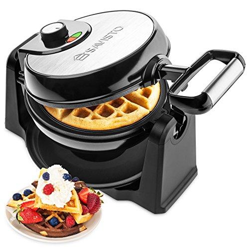 Savisto Rotary Waffle Maker | 18...