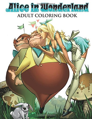 Alice in Wonderland Adult Coloring Book (Colouring Books)