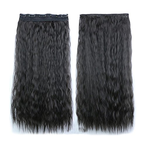 Tianya 1pc Frauen Fashion Gewellt Gelockt Lang Haar Perücke vorne Lace Perücken Fancy Kleid Party Hair Styling Produkte, dunkelgrau, Length: 60*26cm (Patient Fancy Dress)