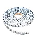 Hofmann Power Weight Rôle de Masses d'equilibrage Autocollantes Argent Type356 1.000x5kg Masse equilibrage Jantes alu