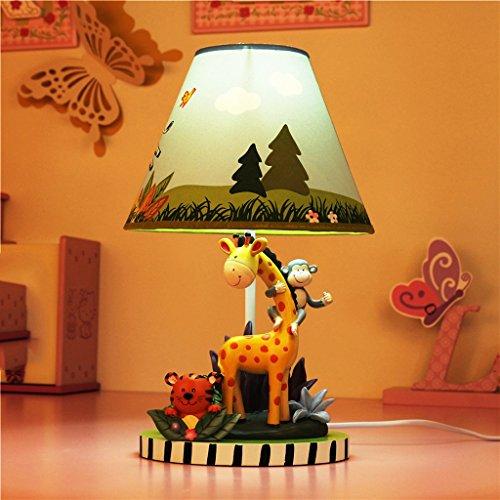 MILUCE Kinder Tischlampe Schlafzimmer Nachttisch Lampe Cartoon Kreativ Warm Junge Zimmer Einstellbare Licht Tier Licht