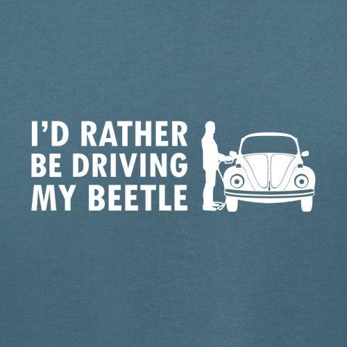 Ich würde lieber meinen Beetle fahren - Damen T-Shirt - 14 Farben Indigoblau