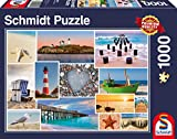 Schmidt Spiele 58221 - Am Meer, 1000 Teile Puzzle