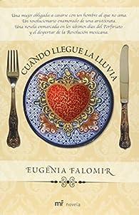 Cuando llegue la lluvia/When the Rain Comes par Eugenia Falomir