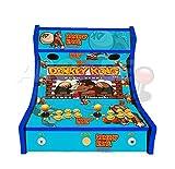 Arcade Machines - Donkey Kong Blue - 2 jugadores Arcade Bartop Machine - 815 JUEGOS EN 1