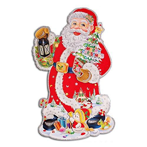 ufengker-merry-christmas-floccaggio-babbo-natale-albero-di-natales-snowman-3d-adesivi-murali-adesivi