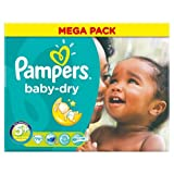 Couches Pampers Baby Dry taille 5+ Mega Pack 70par lot de 1