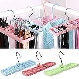 #7: Connectwide®Multi - functional Belt Storage Rack,Hook Organizer Holder ,Storage Hanger For Wardrobe,Belt,Tie,Scarf (1)