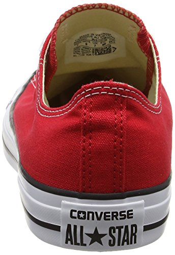 Converse AS Ox Can red M9696 Unisex-Erwachsene Sneaker, Rot (red), EU 42(US 8.5) - 2