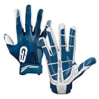 ‏‪Grip Boost Football Gloves Mens #1 Grip Stealth Pro Elite - Adult & Youth Football Glove Sizes Large‬‏