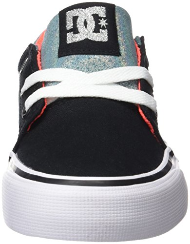DC Shoes Trase Tx Se, Chaussures Fille Black/Multi/White