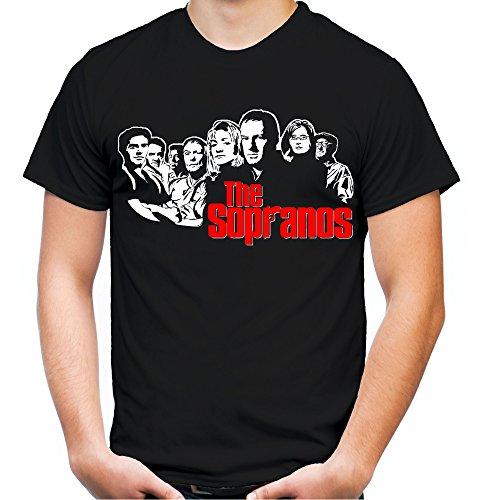 The Sopranos Männer und Herren T-Shirt | Spruch Bada Bing Kult Geschenk (XXXXL, (Kostüme Ideen Film Kult)