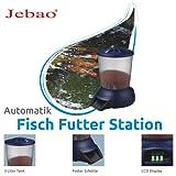 Jebao Fischfutterautomat, Set mit Ständer Futterautomat für Fisch / Koi Teich 5L, Teleskopbeine, sicherer Stand – Jebao wsq01 - 4