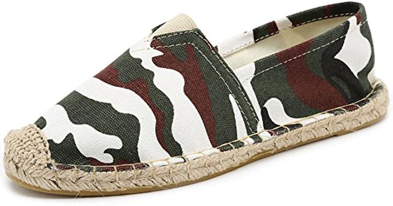 haoyuxiang haoyuxiang haoyuxiang hommes / femmes nouvelles chaussures à la mode de ventilation hommes et femme s des toiles de chaussures cousu main corde chaussure un pied...la conception du queensland vh15105 luxuriante grosses ventes saisonnières 75dd1a
