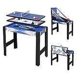 HLC, tavolo multifunzionale da gioco per biliardo, basket, tennis, hockey