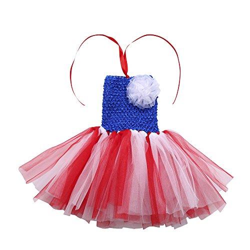 Amphia - Baby Karneval Tutu - Neugeborenes Baby Mädchen Kinder Floral Tutu Rainbow Dance Phantasie Partykleid