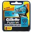 Gillette Fusion ProShield Chill lames de rechange pour rasoir pour homme, 8têtes