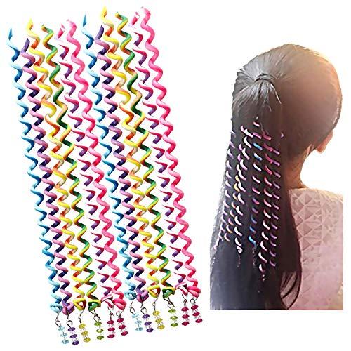 Preisvergleich Produktbild Bakacase Mädchen Haar Styling Twister Clip Flechter Werkzeug DIY Zubehör mit Cartoon Kopf (6 Stücke Cartoon)