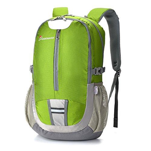 Mountaintop Zaini Trekking Impermeabili Zaino Casual 30L Verde