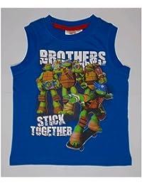 Summer Débardeur T-shirt Tortues Ninja Garçon 3/8ans–oe1298