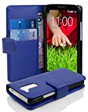 Cadorabo Book-Style Case for LG G2 Mini in King Blue with