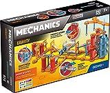 Geomag- Mechanics Gravity Shoot & Catch Sistema di Costruzione Magnetico, Multicolore, 243 Pezzi, GM302