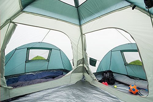 neumayer bali 4 12 air familienzelt outdoor zelt. Black Bedroom Furniture Sets. Home Design Ideas