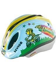 Levior Primo Lizenz - Casco de ciclismo infantil, color multicolor ( 46 - 51 cm )