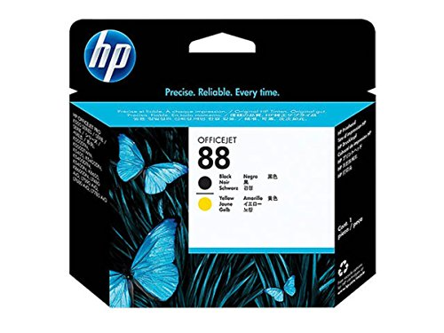 Preisvergleich Produktbild HP - Hewlett Packard OfficeJet Pro K 8600 Series (88 / C 9381 A) - original - Druckkopf schwarz auf gelb - 90.000 Seiten - 20ml