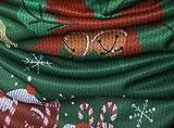 WHATLEES Unisex langärmliges Weihnachtsshirt Christmas T-Shirt mit 3D Druckmuster, B397-14, M