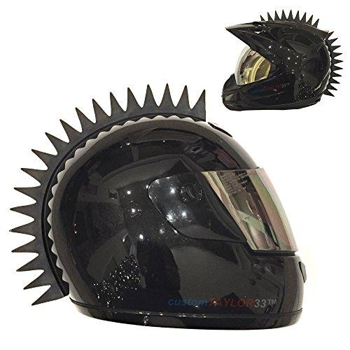 customTAYLOR33 - Casco de goma con pinchos uniformes (casco no incluido)