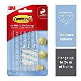 Command 17026CLR Decoration Clips for Christmas and Fairy Light
