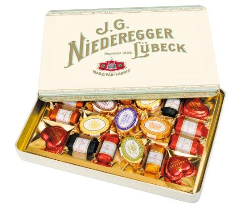 Niederegger Brennwert: 2082kJ / 496kcal