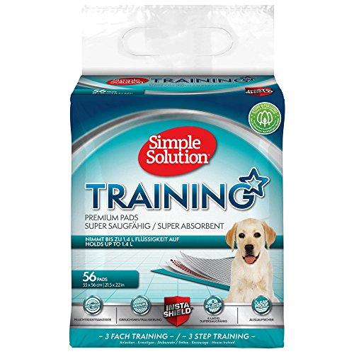 Hund und Welpen Simple Solution Training Pads  - 6 lagig –  56 Stück