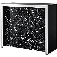 Casa-Padrino Bar de diseño 120 x 48 x H. 104,5 cm - Mueble Bar de Lujo - Comparador de precios