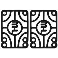 Mini-Logo–Juego de 2Alfombrillas Elevadoras