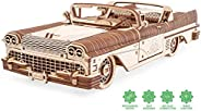 Ugears - Model Dream Cabriolet VM-05-739 Parts - 3D Wooden Puzzle - Mechanical Model - UGR-70073