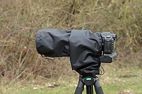 Objectif/Housse de pluie imperméable pour appareil photo Sigma DG 120–400mm 4,5–5,6APO HSM, et pochette de transport en nylon, noir, fabriqué au