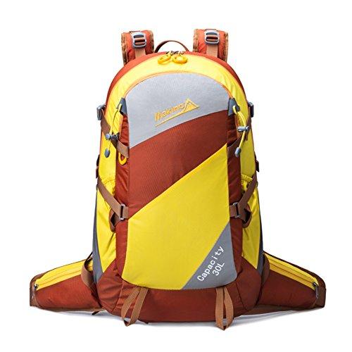 Bergsteigen Tasche/Männer und Frauen Rucksack/Außenreit Rucksack-braun 30L braun