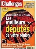 Telecharger Livres CHALLENGES No 179 du 30 05 2002 LA VERITE SUR LES ANALYSTES FINANCIERS A L ASSEMBLEE ET SUR LE TERRAIN LES MEILLEURS DEPUTES DE VOTRE REGION LOUIS SCHWEITZER ET CARLOS GHOSN DEUX PILOTES POUR RENAULT CET ARGENT QUI REND FOUS LES POLITIQUES (PDF,EPUB,MOBI) gratuits en Francaise