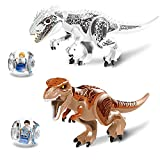 LINYOTEC Dinosaur, 29cm Actionfiguren Bauklötze Kinder Spielzeug Dinosaurier Tyrannosaurus Rex T-rex Building Toy