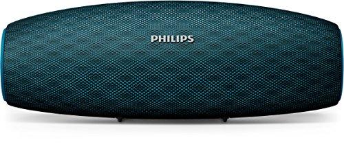 Philips Everplay BT7900A Enceinte Bluetooth Waterproof, Antichoc, avec Dragonne USB, 10h Autonomie, Bleu