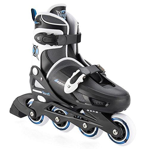 xootz-girls-inline-skates-adjustable-and-padded-roller-blades-black-size-1-4