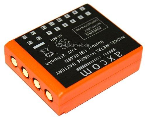 Axcom Batterie de Rechange radiomatic fUB06N bA223 bA223030 de Grue hBC bA223000 2100mAh 3,6 v