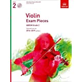 Violin Exam Pieces 2016-2019, ABRSM Grade 2, Score, Part & CD: Selected from the 2016-2019 syllabus (ABRSM Exam Pieces)