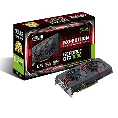 ASUS GeForce GTX 1060 6 GB EXPedition