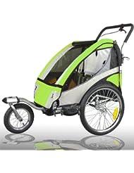 Remorque vélo avec remorque vélo tout suspendu joggerfunktion exclusiv 504S - 02