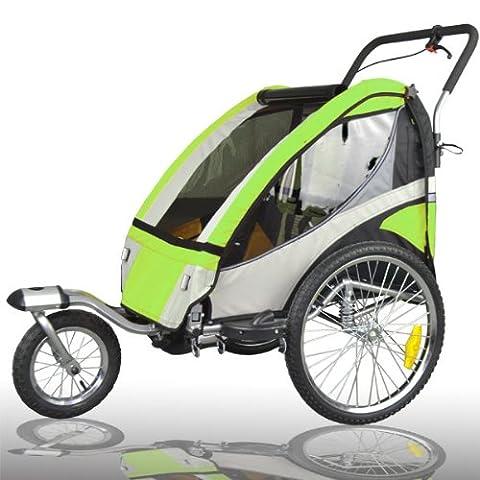 Jogger Remorque à Vélo 2 en 1, pour enfants +