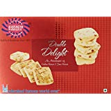 Karachi Bakery Double Delight Fruit Biscuit with Cashew, 400g